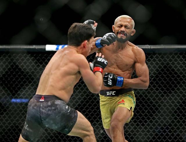 Deiveson Figueiredo stops Joseph Benavidez three