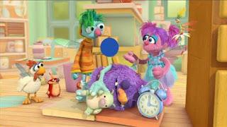 Abby's Flying Fairy School Sleeping Blöggy, Abby Cadabby, Blögg, Gonnigan, Mrs. Sparklenose, Sesame Street Episode 4408 Mi Amiguita Rosita season 44