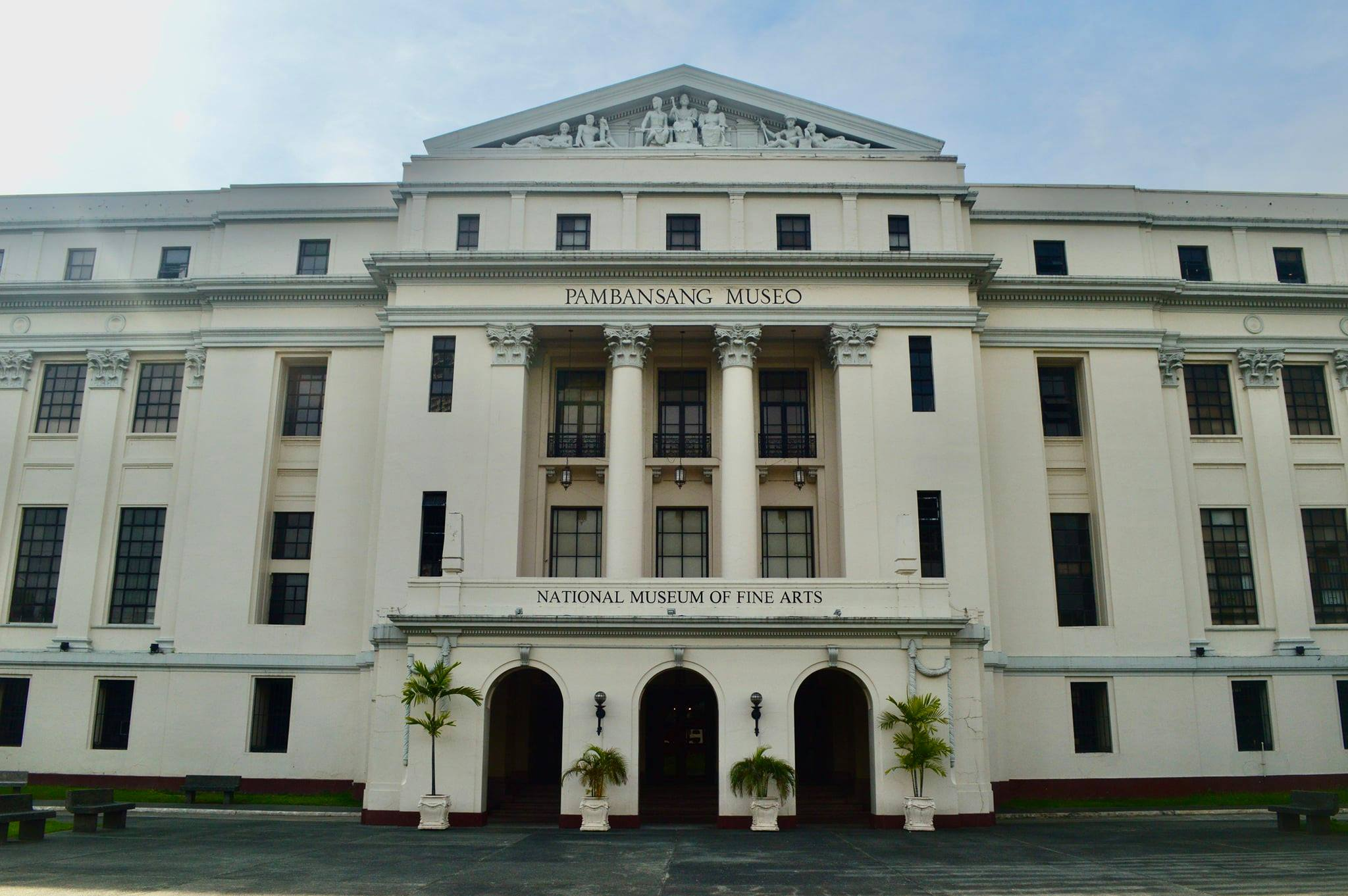 National Museum of Fine Arts (formerly the Old Legislative Building; sometimes referred to as the Old Congress Building).