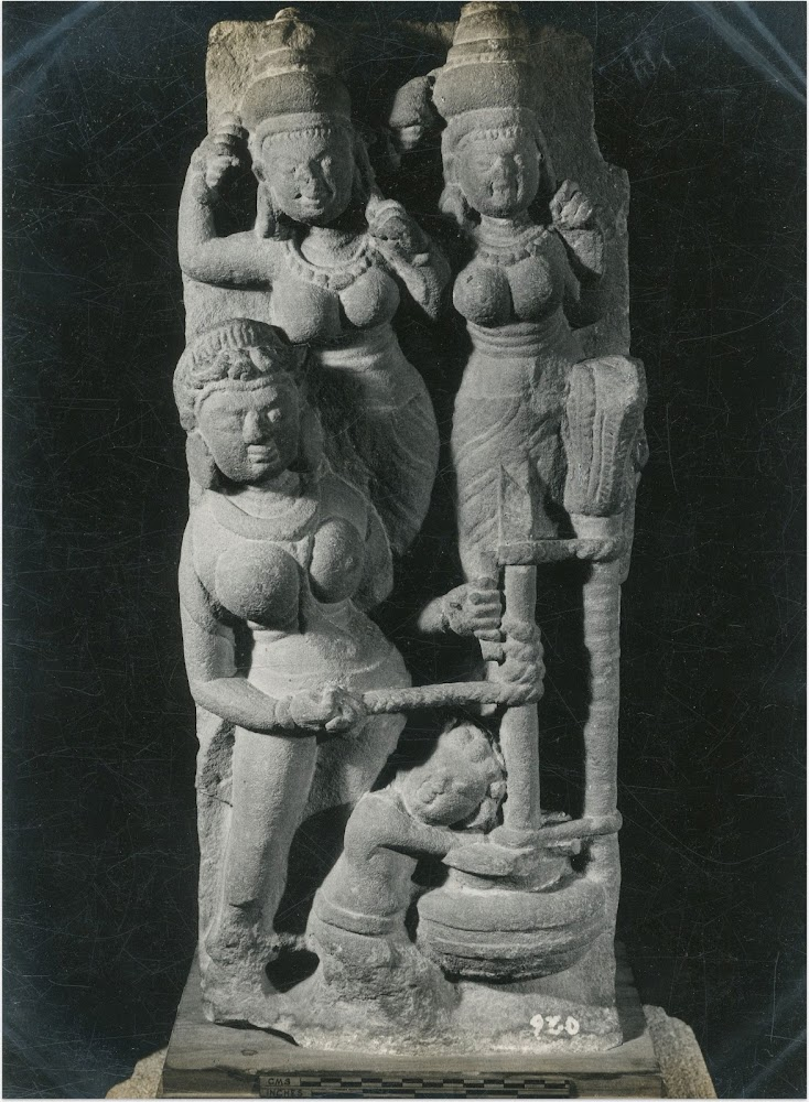 Sculpture of Krishna Stealing Butter - 6th Century AD