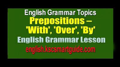 Prepositions-english grammar