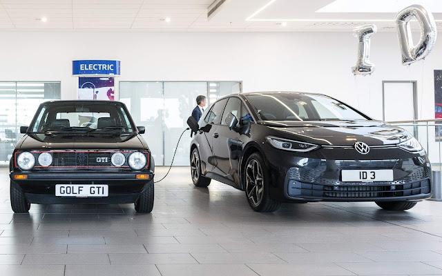 Volkswagen ID.3 elétrico chega em peso às concessionárias
