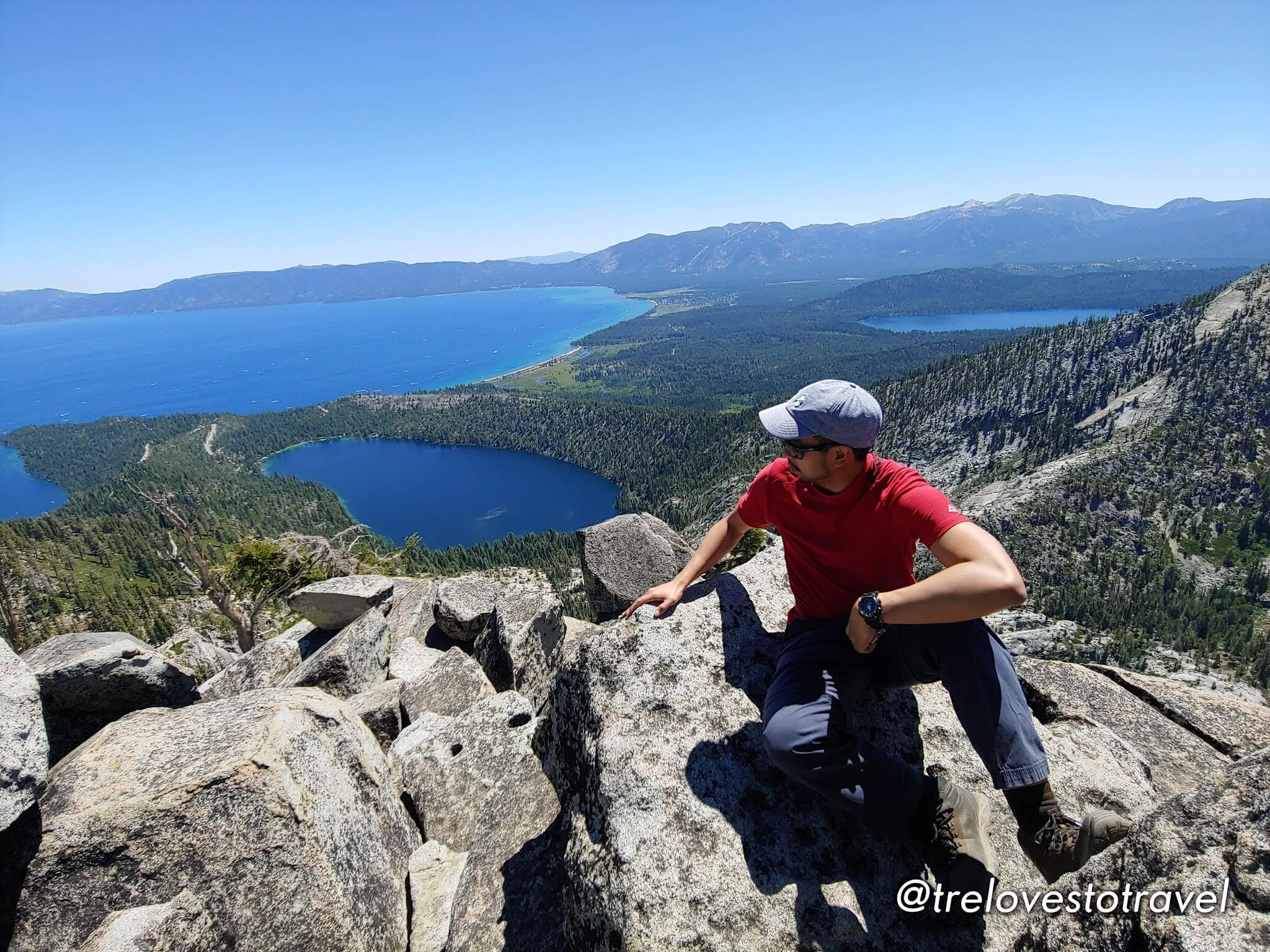 Hiking-South-Lake-Tahoe-California