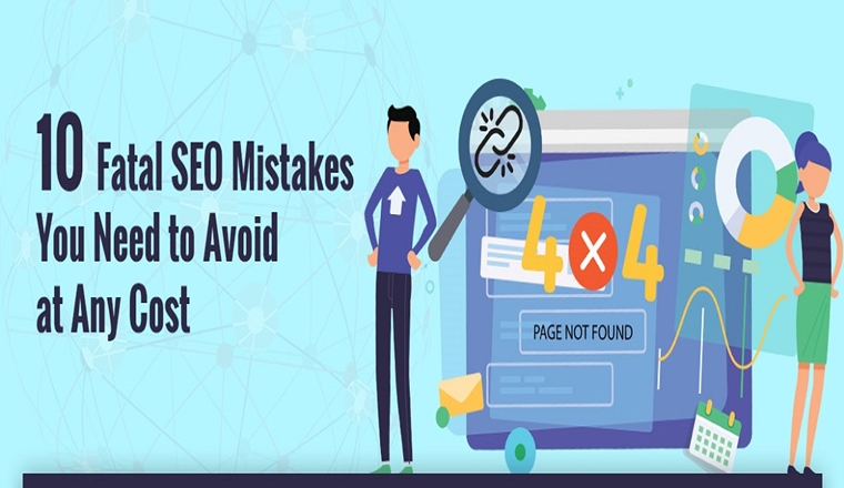 10 Deadly Seo Blunders That Will Kill Your Site and Rankings in 2019 #infographic