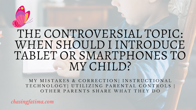 When to introduce tablets or smartphones to my child