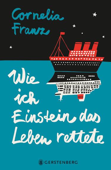 """Neue Geschichten vom Meer. Das Jugendbuch """"Wie ich Einstein das Leben rettete"""" für Kinder und Jugendliche ab 10 Jahren berichtet von einer abenteuerlichen Schiffs- und Zeitreise über den Ozean."""