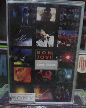 Kaset Bon Jovi - One Wild Night