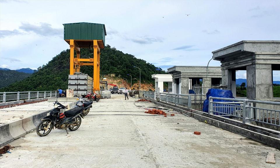 Công trình 'giải khát' cho Ninh Thuận chuẩn bị được nghiệm thu