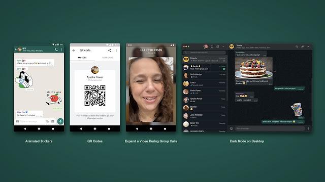 واتساب تدعم التواصل عبر رموز QR بشكل رسمي ومميزات أخرى مهمة