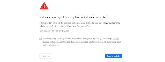 Không vào được mạng internet trên Windows 7