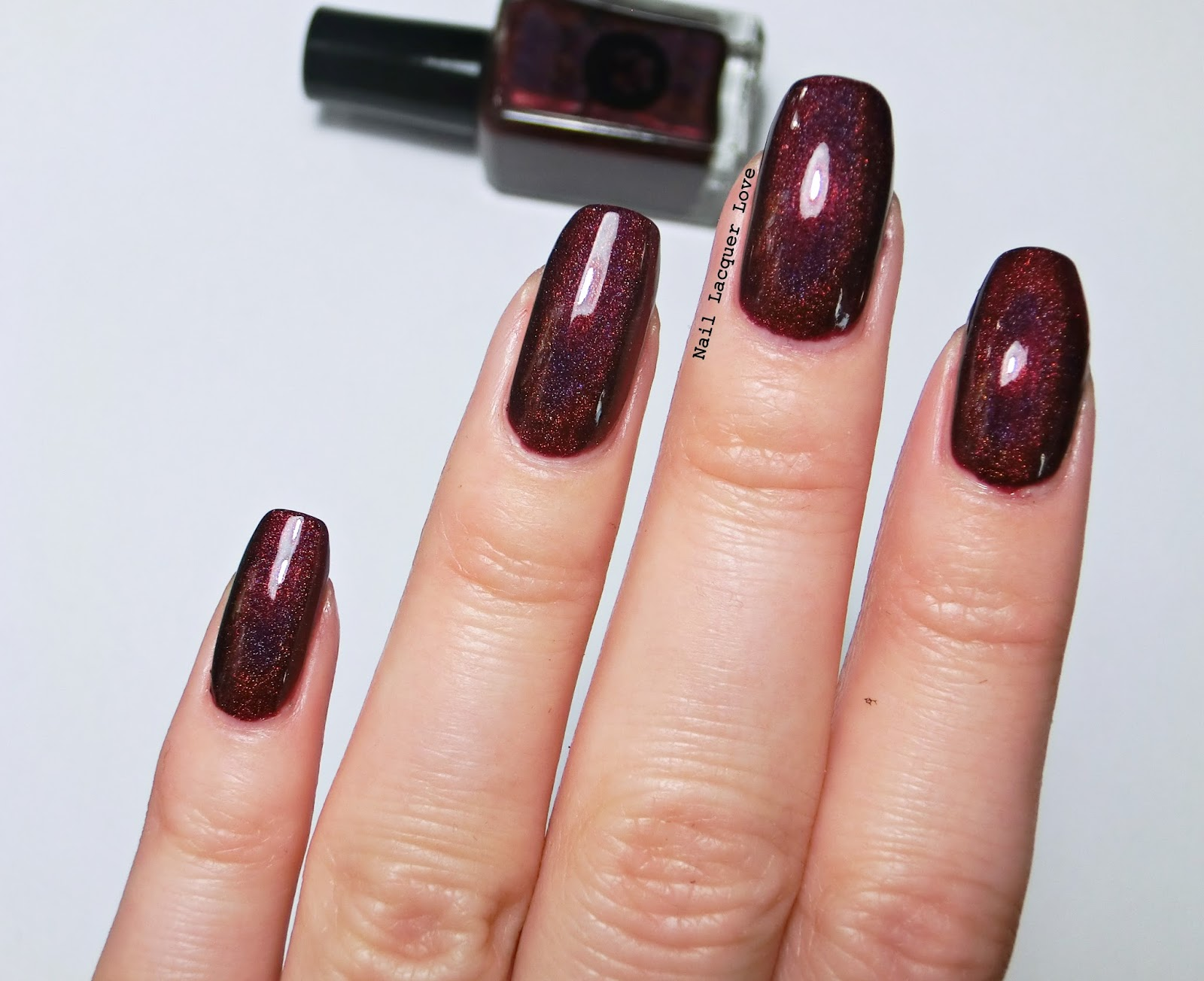 Nail Lacquer Love: Bear Pawlish In Love With the Bad