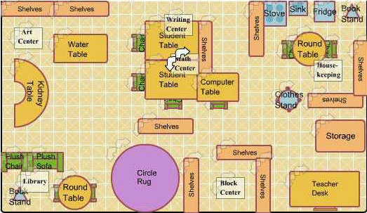 Classroom Layout Template classroom layout how to create a floor