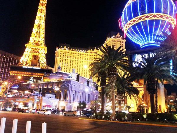 Night at Las Vegas