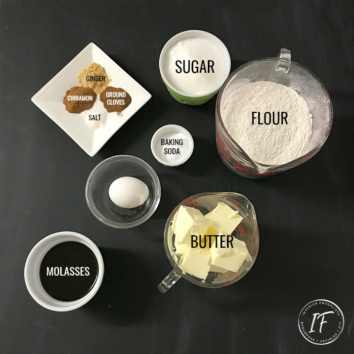 Swedish Pepparkaka Cookie Ingredients