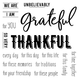 September Stamp of the Month: Grateful For This Life