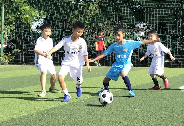 Bóng đá và các môn thể thao bổ ích cho trẻ