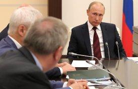 прикрывают перегруппировку ближнего круга Путина