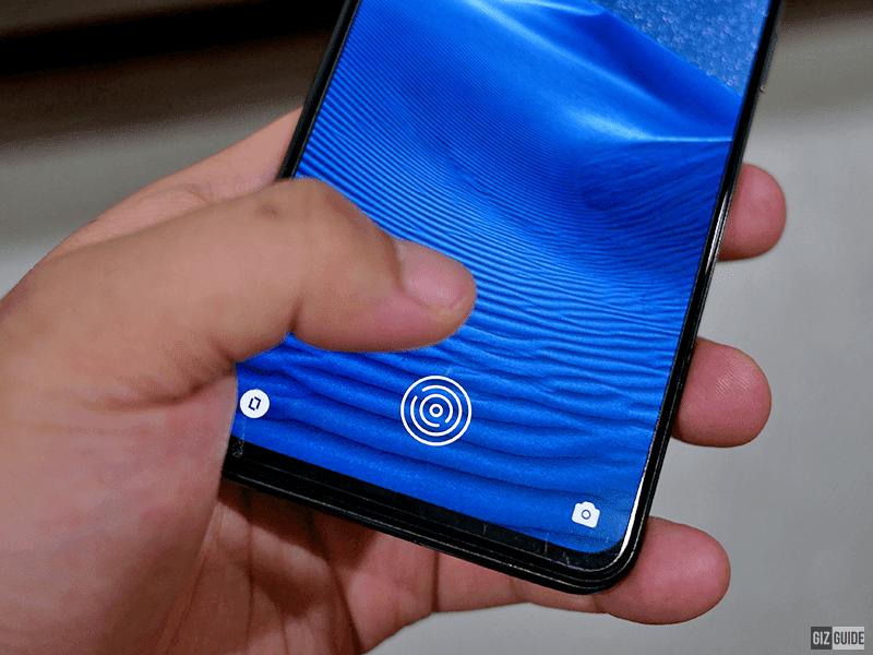 In-Display fingerprint reader