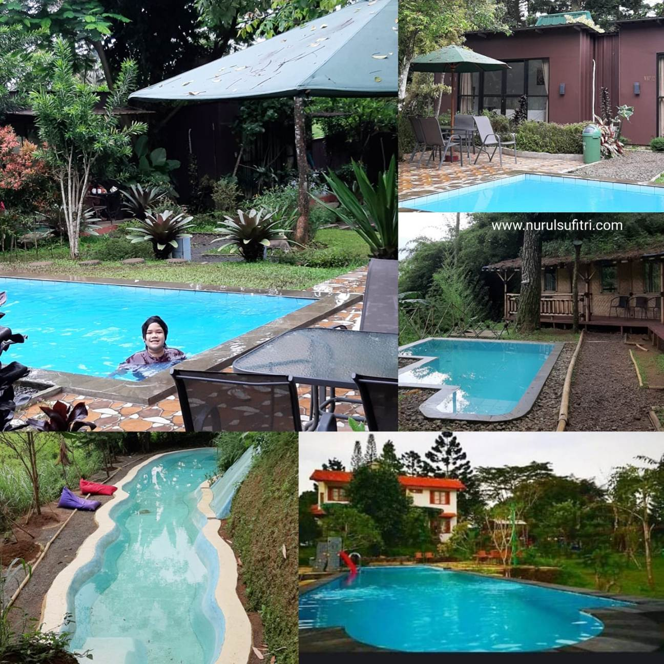 pengalaman pertama menginap di cabin vip the forest cisarua nurul sufitri travel lifestyle blog