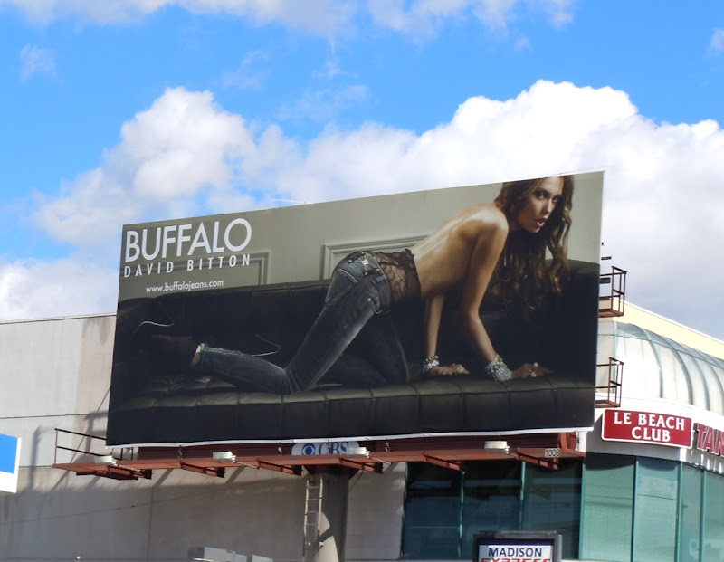 Sexy Buffalo Jeans billboard