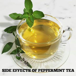 What is the side effects of peppermint tea? Pros and cons of peppermint tea.