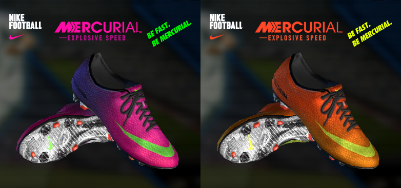 Nike Mercurial Anime Pack Bootpack Pes 2013 V3 5 By Nilton1248 Replace