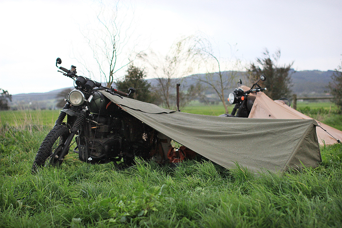 Gear Review Exposed Motorcycle Bivouac
