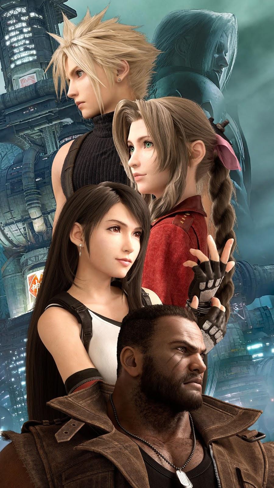 Hình nền Final Fantasy 7 Remake siêu đẹp