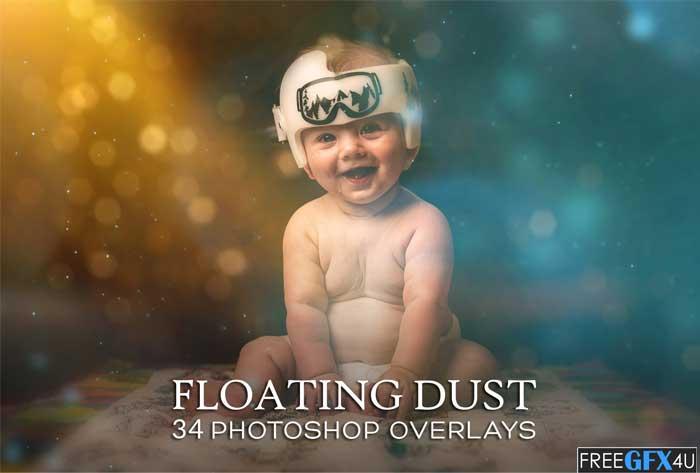 Floating Dust Photoshop Overlay Action