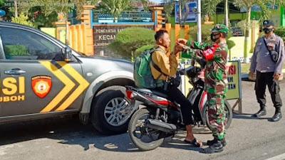 Operasi Yustisi, Tim Gabungan Jaring 45 Pelanggar Prokes Covid-19