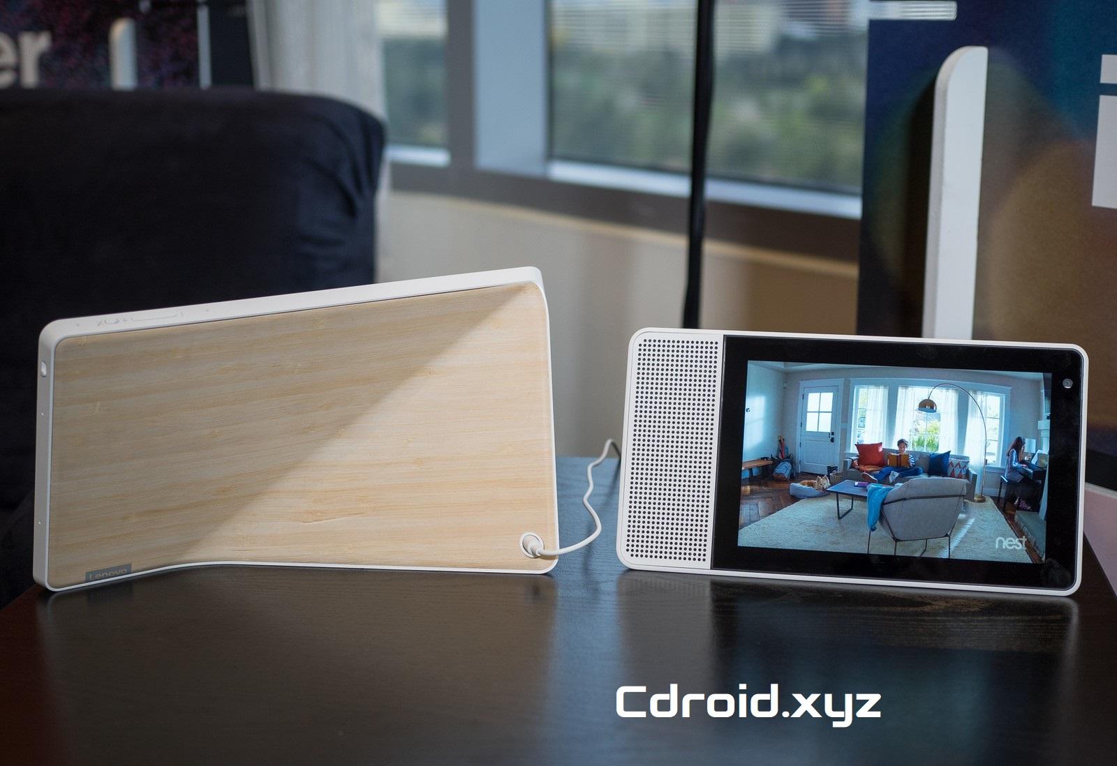 Las pantallas inteligentes vienen primero de JBL, Lenovo, LG y Sony.