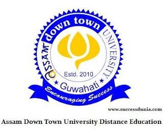 Assam Down Town University Distance Education