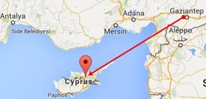 Gaziantep-Kıbrıs Uçakla Yolculuk