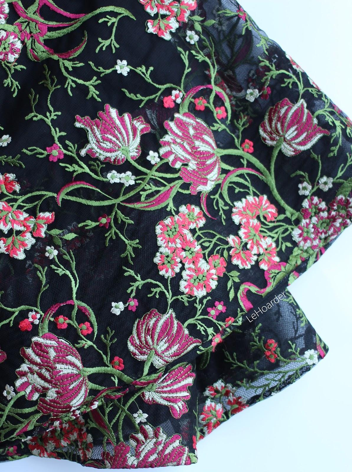 Racks and Racks of Modest Dresses at the Teri Jon Sample Sale ...