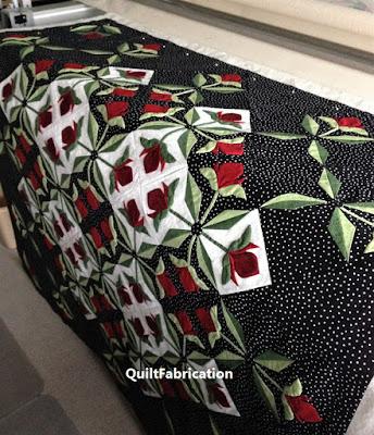 Mediterranean Rose quilt