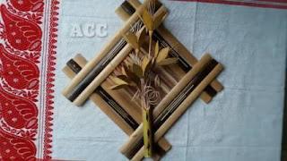Produk Kerajinan Dinding dari Bambu Unik dan Yang Mudah