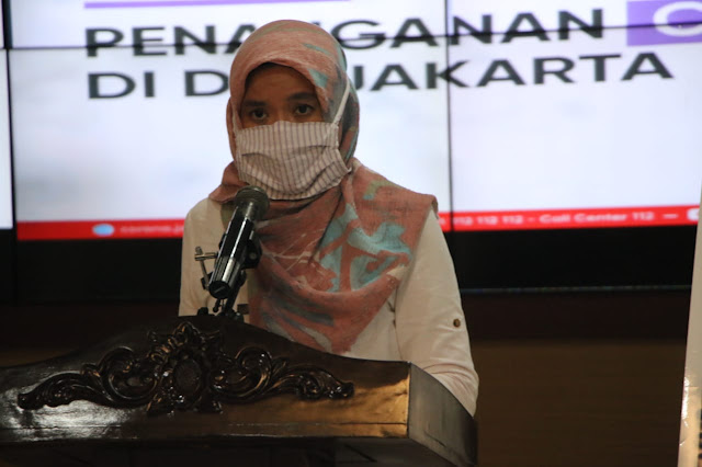 Update Corona Jakarta : Ada Penambahan Kasus Positif COVID-19 Sebanyak 393 Orang