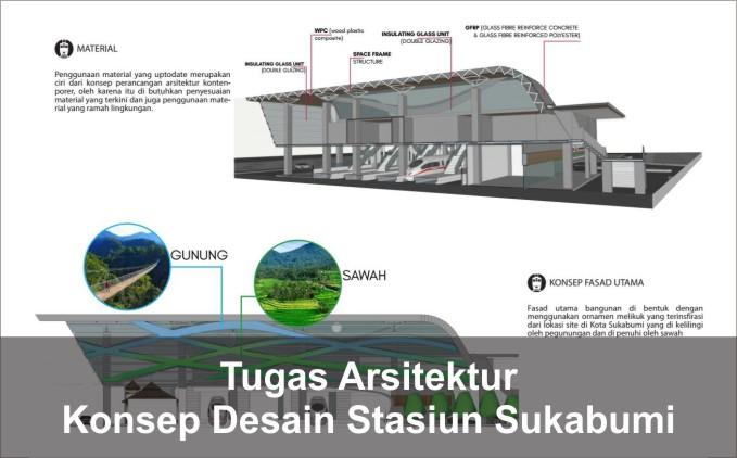 Konsep desain Stasiun