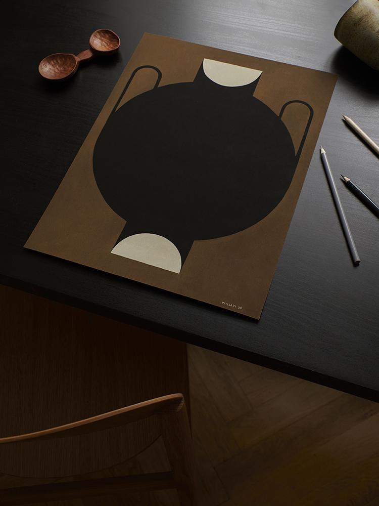 Studio Paradissi x The Poster Club Silhouette Of A Vase exclusive collaboration