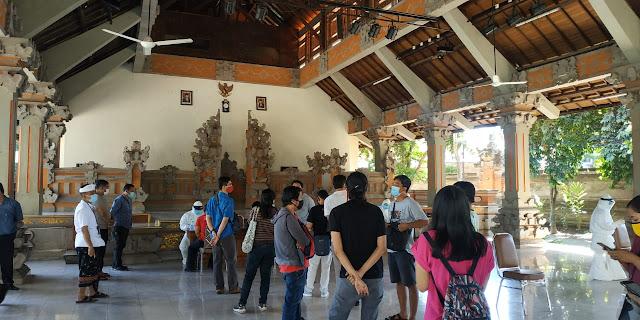 Puluhan Wartawan Bali Melakukan Rapid Test