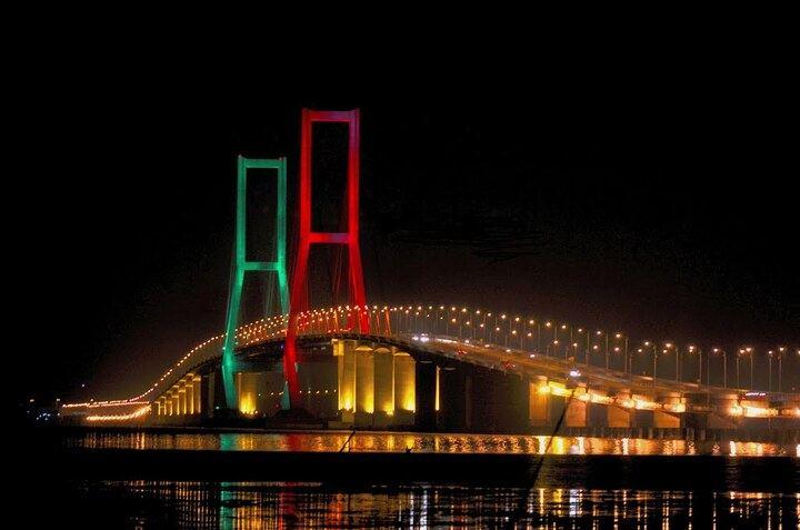 The Beauty of the Suramadu Bridge