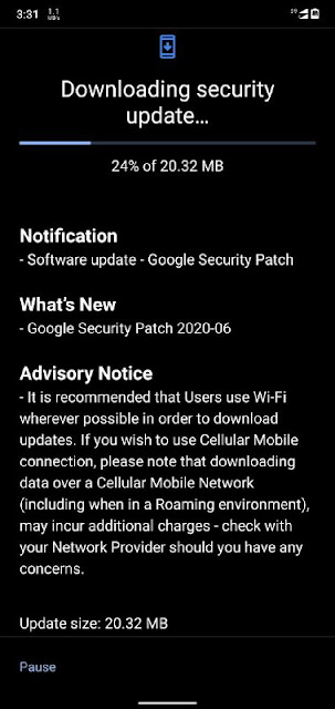 Nokia 6.1 Plus receiving June 2020 Android Security patch