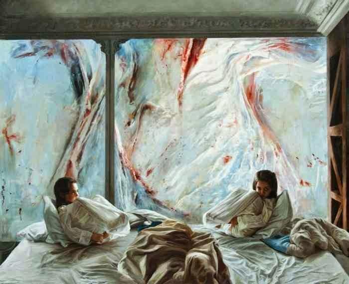 Масштабные полотна в традиционном стиле. Guillermo Lorca