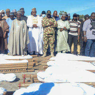 43 Farmers Beheaded by Boko Haram Laid to Rest