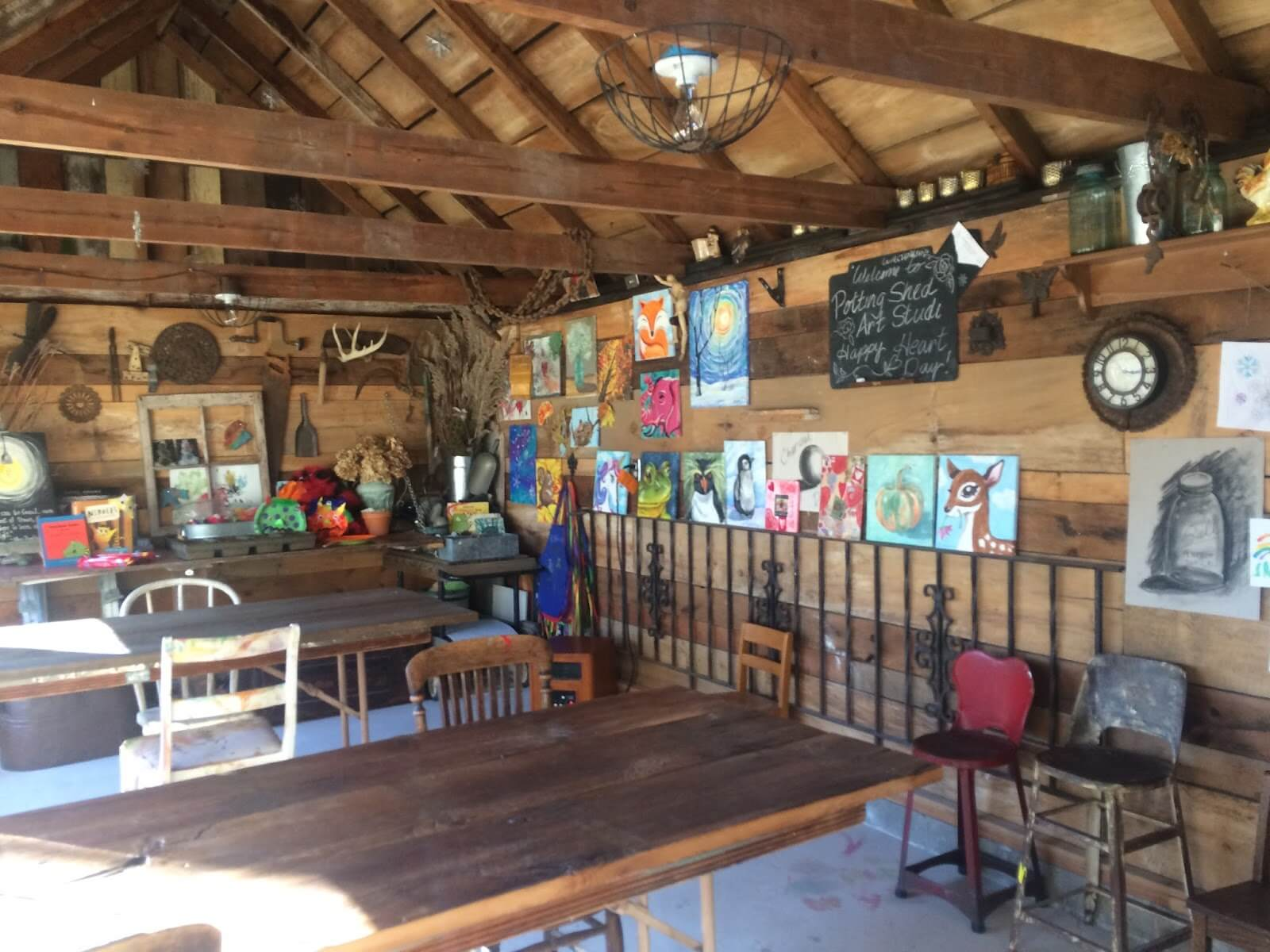 The Potting Shed Art Studio Is An Adorable Little Place It Located At 401 Timberlan Road In Germantown Hills Owner Deb Wiechmann Offers Several
