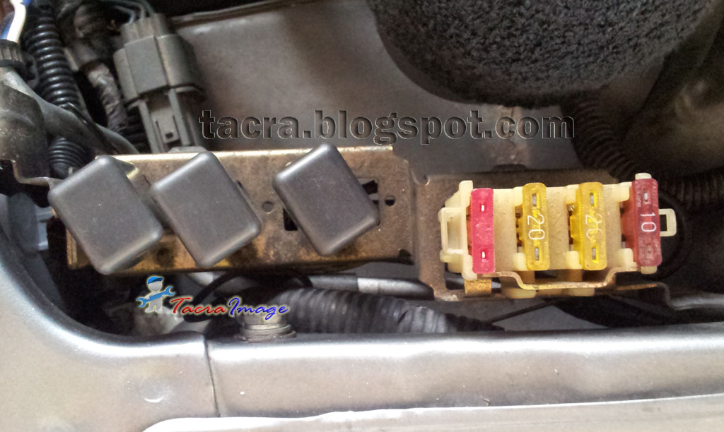 Tacra U0026 39 S Diy Garage  4g9x Fuse  U0026 Relay