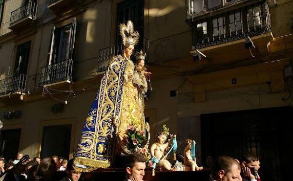 Horario e Itinerario Procesión Virgen de los Remedios. Málaga 19 de Septiembre del 2021