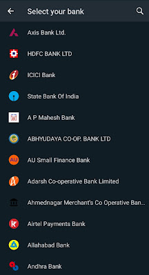 WhatsApp Choose Your Bank