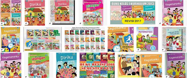Buku  Mata Pelajaran SD/MI di Kurikulum 2013