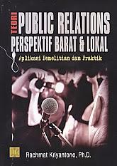 BUKU TEORI PUBLIC RELATIONS PERSPEKTIF BARAT DAN LOKAL